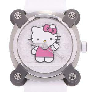Romain Jerome White Stainless Steel RJ X Hello Kitty Automatic RJ.M.AU.IN.023.01 Women's Wristwatch 34 MM