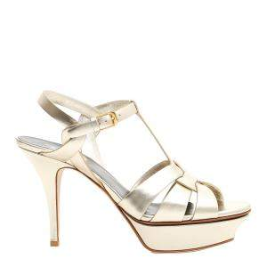 Saint Laurent Tribute Sandals Size EU 38