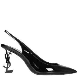 Saint Laurent Opyum Slingback Pumps Size IT 37.5
