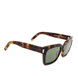Saint Laurent Brown Tortoise Bold 1 Sunglasses
