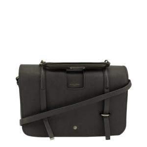 Saint Laurent Grey Leather Charlotte Bag