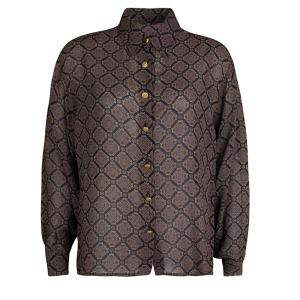 Salvatore Ferragamo Multicolor Printed Long Sleeve Shirt L