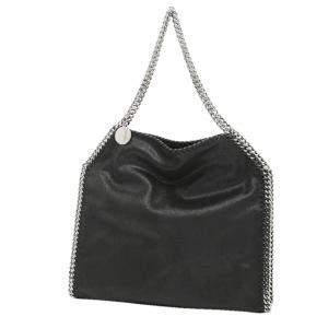"""حقيبة يد ستيلا مكارتني """"فالابييلا"""" صغيرة جلد أسود"""