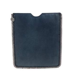 Stella McCartney Dark Blue Faux Leather Falabella iPad Case