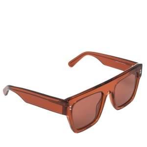 نظارة شمسية ستيلا مكارتني أس سي0119أس آي مربعة برتقالي