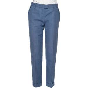 Stella McCartney Blue Hemp Formal Pants M