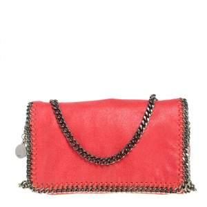 Stella McCartney Chilli Red Faux Leather Falabella Crossbody Bag