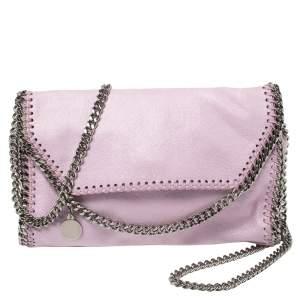 Stella McCartney Lilac Faux Leather Mini Falabella Shoulder Bag
