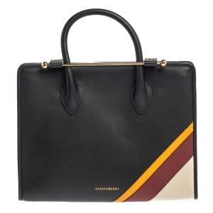 Strathberry Multicolor Leather Midi Tote