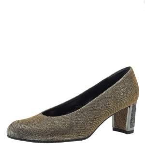 حذاء كعب عالي ستيورات وايتزمان شيك لوريكس قزحي اللون مقاس 36.5