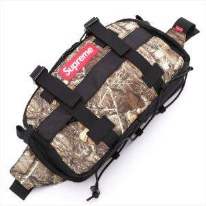 Supreme Real Tree Nylon Camouflage Belt Bag