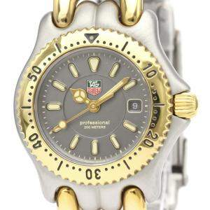 Tag Heuer Gray Gold Plated Stainless Steel Professional WG1320-0 Women's Wristwatch 28 MM