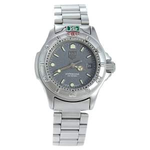 Tag Heuer Grey Stainless Steel Professional 4000 999.208A Women's Wristwatch  28 mm