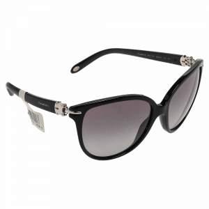 Tiffany & Co. Black Gradient TF 4064 Cat Eye Sunglasses