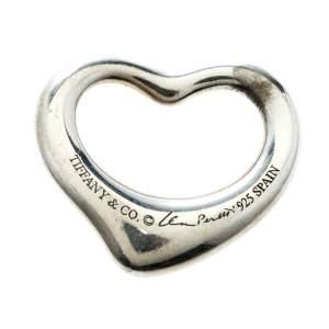Tiffany & Co. Elsa Peretti Open Heart Silver Pendant