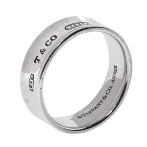 Tiffany & Co. 1837 Silver Band Ring Size 59