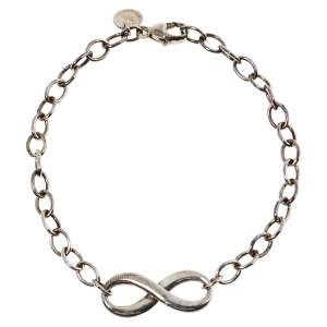 Tiffany & Co. Sterling Silver Infinity Bracelet