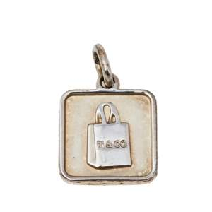 Tiffany & Co. Sterling Silver Lexicon Bag Charm Pendant