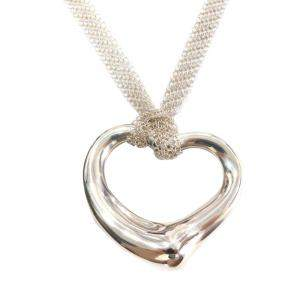 Tiffany & Co. Open Heart  Silver Fashion and Silver Jewelry