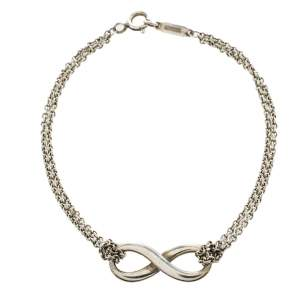Tiffany & Co. Sterling Silver Infinity Bracelet