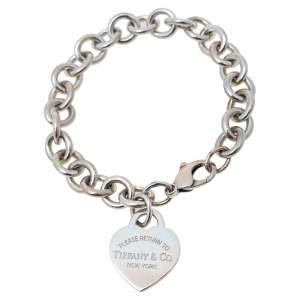 Tiffany & Co. Return to Tiffany Heart Tag Charm Bracelet