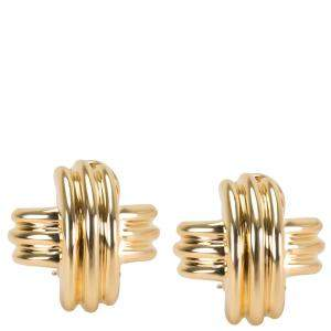 Tiffany & Co. X 18K Yellow Gold Earrings