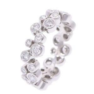 Tiffany & Co. Bubble Band Platinum Diamond Ring Size 48