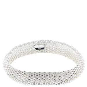 Tiffany & Co. Somerset Silver Mesh Bracelet