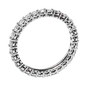 Tiffany & Co. Embrace Diamond Platinum Eternity Band Ring 50