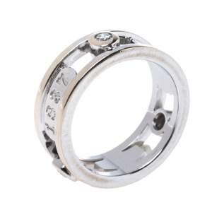 خاتم تيفاني آند كو خاتم تيفاني 1837  ذهب أبيض عيار 18 ذهب أبيض مقاس 48