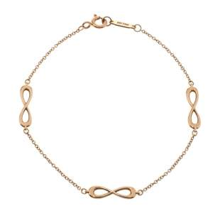 Tiffany & Co. Infinity Endless 18K Rose Gold Bracelet