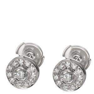 Tiffany & Co. Circlet Diamond Platinum Stud Earrings