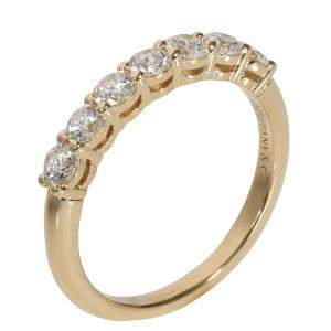 Tiffany & Co. Embrace Diamond 18K Yellow Gold Ring Size 51