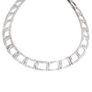 Tiffany & Co. Platinum 6.13 CTW Diamond Choker Necklace