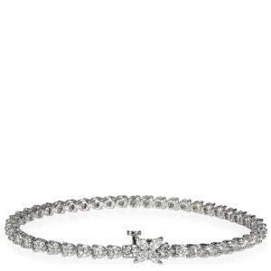 Tiffany & Co. Platinum 4.49ctw Diamond Victoria Bracelet
