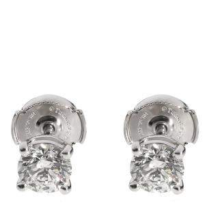 Tiffany & Co. Stud Diamond Platinum Earrings