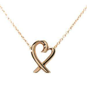 Tiffany & Co. 18K Rose Gold Loving Heart Pendant Necklace