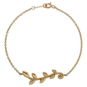 Tiffany & Co. Paloma Picasso® 18K Yellow Gold Olive Leaf Vine Bracelet