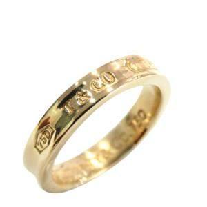 Tiffany & Co. Tiffany 1837 Yellow Gold Ring Size EU 50