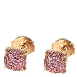 Tiffany & Co. Paloma's Sugar Stacks 18K Rose Gold Sapphire Stud Earrings