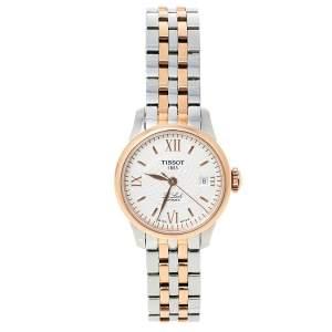 ساعة يد نسائية تيسوت لو لوسي تي41.2.183.33 ستانلس ستيل لونين فضي 25.30 مم