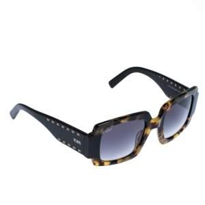 Tod's Dark Brown Tortoise TO 213 Square Sunglasses