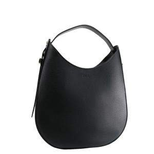TOD'S Black Leather Oboe Small Bag