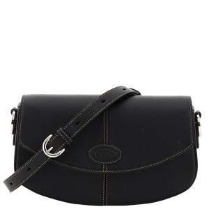 Tod's Black 2020 Leather C-Mini Shoulder Bag