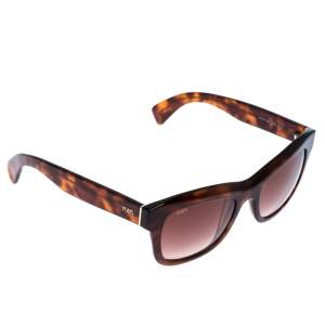 Tod's Brown Tortoise TO 187 Wayfarer Sunglasses