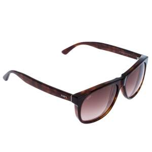 Tod's Brown TO 16552J Square Sunglasses