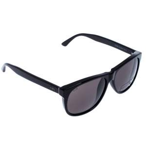 Tod's Black TO 165-F Square Sunglasses