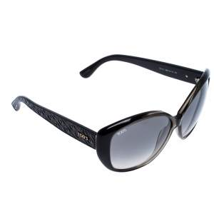 Tod's Black/ Grey Gradient TO111 Oversized Sunglasses