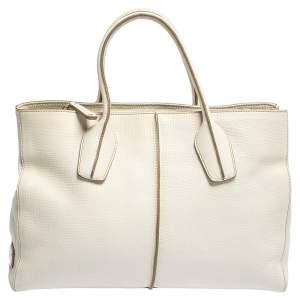 حقيبة يد تودز دي ستيلينغ بيكولو جلد كريمي