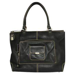 Tod's Black Leather   Totes